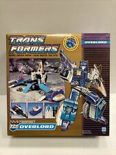 RARE Transformers Hasbro Vintage G1 1990 OVERLORD 100% complet en boite