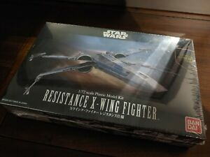 NEW Star Wars Bandai Resistance X-Wing Fighter 1/72 - US Seller