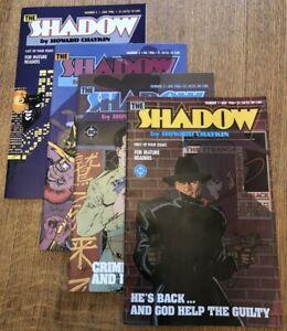 The Shadow #1-4 Mini-Series -- DC Comics 1986, Howard Chaykin, NM-MT Condition