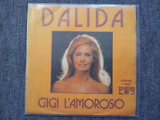 Dalida - Gigi l'amoroso 7'' Single SUNG IN SPANISH