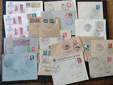Lot documents philatéliques anciens - expositions commémorations
