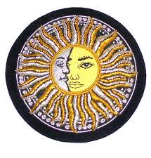 Ancient Cosmic Masonic Sun Moon Ra Khonsu Alpha Omega Right Left Soul Patch 33 X