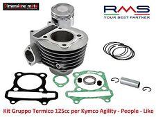 Gruppo Termico Cilindro + Pistone RMS D 52,4mm - 125cc per Kymco Agility R16 125