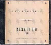 LED ZEPPELIN - Interview Disc  - CD NEU