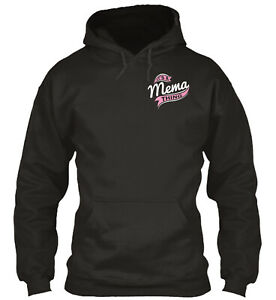 It's A Mema Thing Standard College Hoodie - Poly/Cotton Blend By Teegor