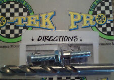 Pro-tek Swing Arm Buddy 1 Bolt Chain Adjuster Bolt Repair CR125R CR250R CR500R