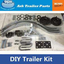 Ark Trailer Kit No Brake Coupling Leaf Spring Hub Bearing Kit for Single Axle