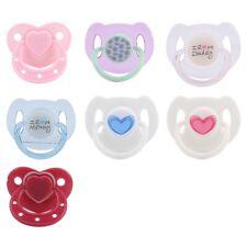 Magnetischer Schnuller mit eingebautem Magnet Fit Reborn Baby Doll Toy ★★★ ✪