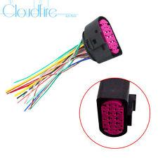 x1 Scheinwerfer Steckverbinde Adapter Connector Für AUDI Q5 Q7 TT A4 S4 A5 A6 A8