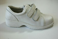 White High Quality Leather Professional Flat Shoes Ladies Golf UK Size 4 #135