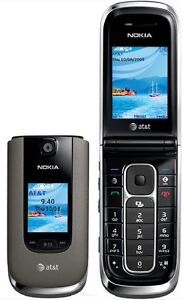 Unlocked Nokia 6350 6350F 2G GSM 3G HSDPA 850/1900/2100 AT&T Red Color