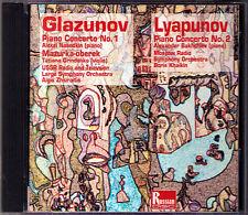 GLAZUNOV & LYAPUNOV Piano Concerto NASEDKIN BAKHCHIEV Tatiana GRINDENKO CD