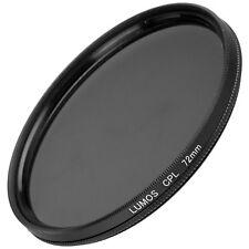 72mm Polfilter zirkular passt zu Objektiv Sony E 18-105 Ø72 Polarisationsfilter