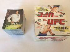 Topps  UFC Trading Cards MAIN EVENT 2010 NEAR FULL SET - Excellent Condition