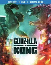 USED Blu Ray GODZILLA VS KONG NO DIGITAL CODES (SEE DESCRIPTION)