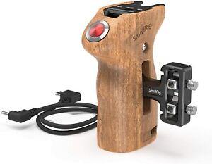 SmallRig Wood Side Handle with Remote Trigger for Panasonic/Fujifilm 2934