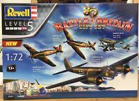 REVELL 05691 BATTLE OF BRITAIN 80th ANNIVERSARY GIFT SET 4 x plastic kits 1:72nd