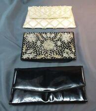 3 Vintage mid-century handbags purse
