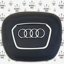 AUDI Q7 -2015-ON /  A4 -2017 GENUINE COVER AIRBAG DRIVER STEERING WHEEL AIR BAG