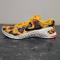 Nike Womens Metcon 4 XD Athletic Shoes Yellow CD3473-700 Training Sneakers 7 M