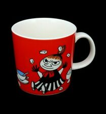 Moomin Arabia Mug Finland Little My Red Tea 2015 Pikku 10 fl.oz Cup #72