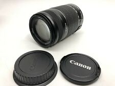 Canon EF-S 55-250mm f/4-5.6 IS II Optical Image Stabilization Lens, Auto/Manual.