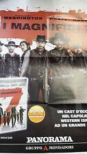 Locandina edicola-poster 80X90:I magnifici 7 (2016) DVD EDIZ.PANORAMA