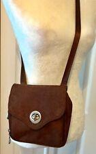 Baggallini Crossbody Shoulder Bag Purse Brown Animal Print Small Organizer *B204