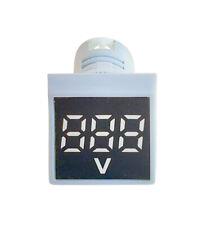 Digital Mini 22mm Led Display Volt Meter