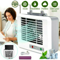 Portable Mini Air Conditioner Cool Cooling Fan Bedroom Artic Cooler USB Desktop