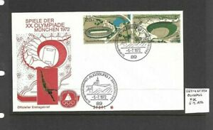 Germany 1972 Olympic Games FDC