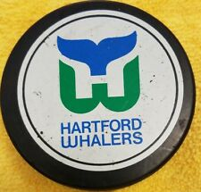 HARTFORD WHALERS VINTAGE  NHL  HOCKEY PUCK OFFICIAL VICEROY SLUG  MADE IN CANADA