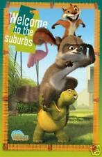 2006 DREAMWORKS OVER THE HEDGE WELCOME TO THE SUBURBS GROUP POSTER 22X34 NEW