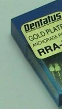 Dentatus Gold Plated Dental Screw Posts L3 Refill 12/box