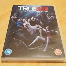 True Blood The Complete 3 Third Series Season DVD 5 Disc Set VGC