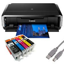 Canon PIXMA IP7250 Tintenstrahldrucker mit WLAN USB CD/DVD-Druck + 5 Tinten