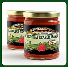 Carolina Reaper Pepper Mash  9 0z Jar