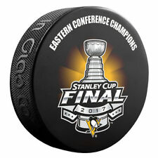Pittsburgh Penguins 2017 Eastern Conference Champions Souvenir Stanley Cup Puck