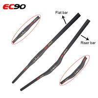 EC90 Carbon Mountain Bike Handlebar Riser/Flat Bar MTB Bicycle Handlebar 31.8mm