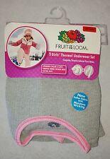 Size S/P 6/6x Childrens Thermal Underwear Set