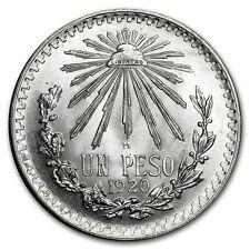 1920 Mexico Peso Cap & Rays BU