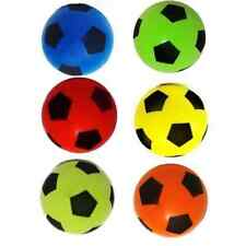 Brand New 6X Soft Foam Sponge Outdoor & Indoor Foot Ball random Colours