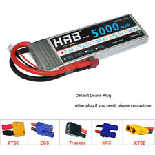 HRB 2S 7.4V 5000mah Lipo Battery 50C 100C for Quadcopter Drone Airplane Car Boat