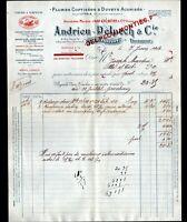 """TOULOUSE (31) USINE de PLUMES & DUVETS """"ANDRIEU & DELPECH / MONTIES"""" en 1913"""