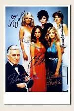 Dynasty / Denver Clan mit John Forsythe, Linda Evans, Joan Collins - Autogramm 