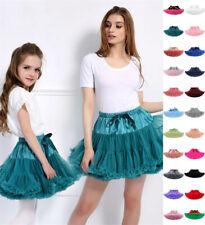UK Girls Kids Women Tutu Skirt Kids Dance Tutu Petticoat Party Dress Ballet