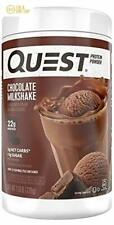 Quest Nutrition Chocolate Milkshake Protein Powder, High Protein, Low Carb 1.6LB