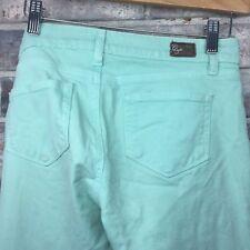 PAIGE Women's Peg Skinny Mint Julip Size 27 Jeans