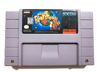 The Flintstones: The Movie SUPER NINTENDO SNES Game Tested + Working & Authentic