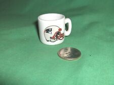 #738* - NEW ENGLAND PATRIOTS NFL FOOTBALL MINIATURE COFFEE MUG, CUP